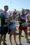 Tony, Sara, Devyyn - Color Me Rad Cincy 2012