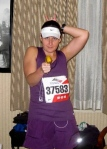 Jennifer Scroggins, Chicago Marathon 2010
