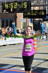 Laura Brown Rinne, Detroit Marathon 2012