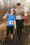 Mags and Brandan, Cross Country Challenge 2012