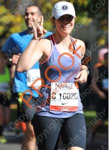 Mags, Chicago Marathon 2013