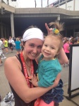 Sara and Mila, Flying Pig 10k