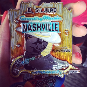 Boot scootin' medal
