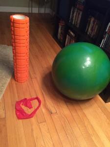 Rehabbing my way back to running.