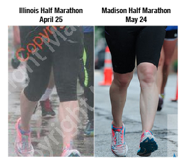 Left: Major knee collapse Right: No knee collapse!